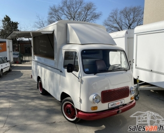Retro / Vintage Food Truck same as Citroen HY
